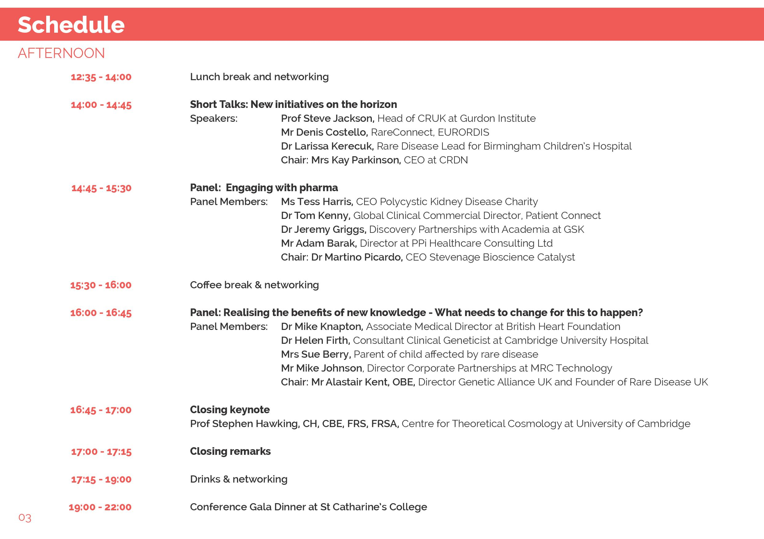 CRDN Summit Programme pm 2015