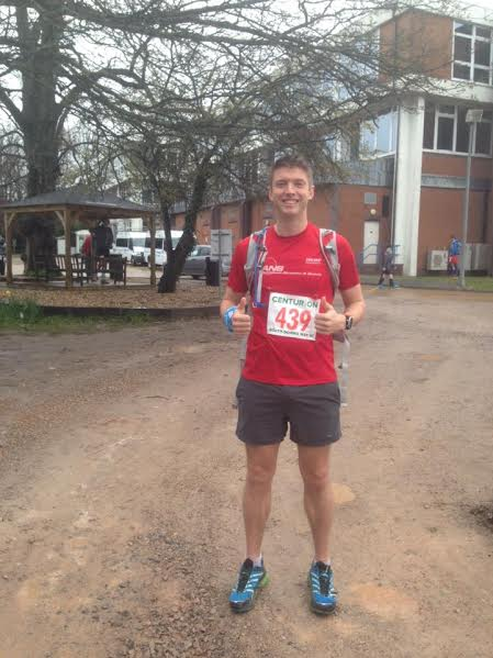 Cambridge Rare Disease Network - Running the 100 mile North Downs Way for CRDN 7