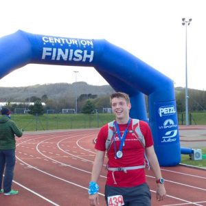 Chris Cawthorn 100 mile run