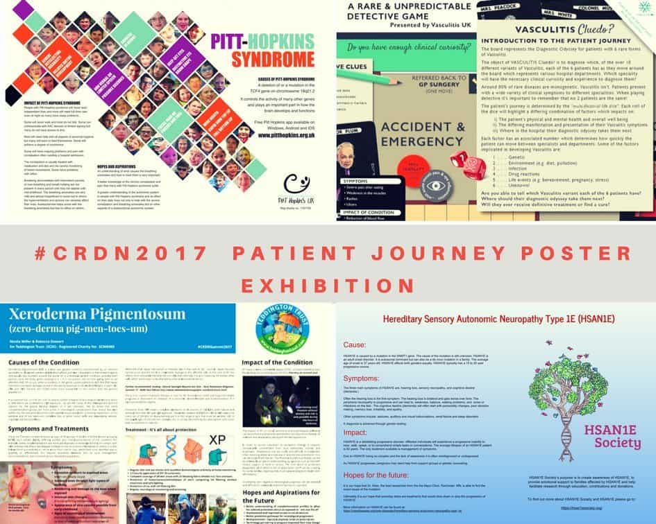 Cambridge Rare Disease Network - We asked rare disease patients and groups to design a poster for #CRDN2017 summit and we got more than we bargained for... 4