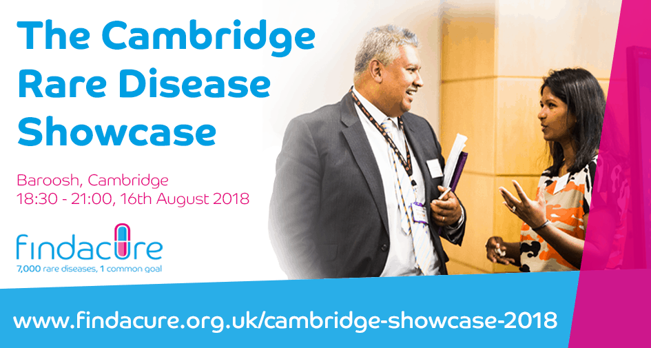 Cambridge Rare Disease Network - Findacure Cambridge Rare Disease Showcase 1