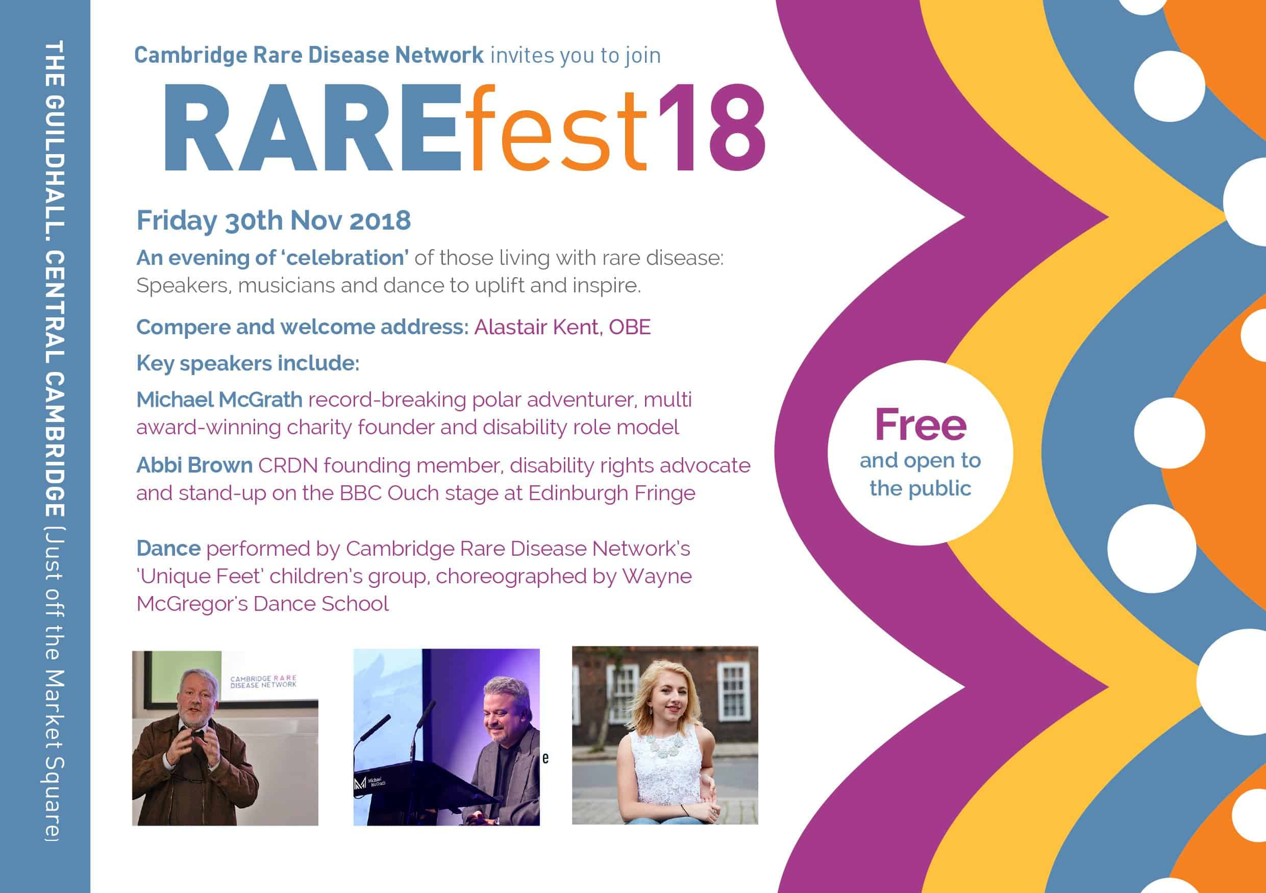 Cambridge Rare Disease Network - RAREfest | The Programme 1