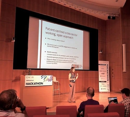 CRDN takes part in the Wellcome Genome Campus Hackathon #BioHack