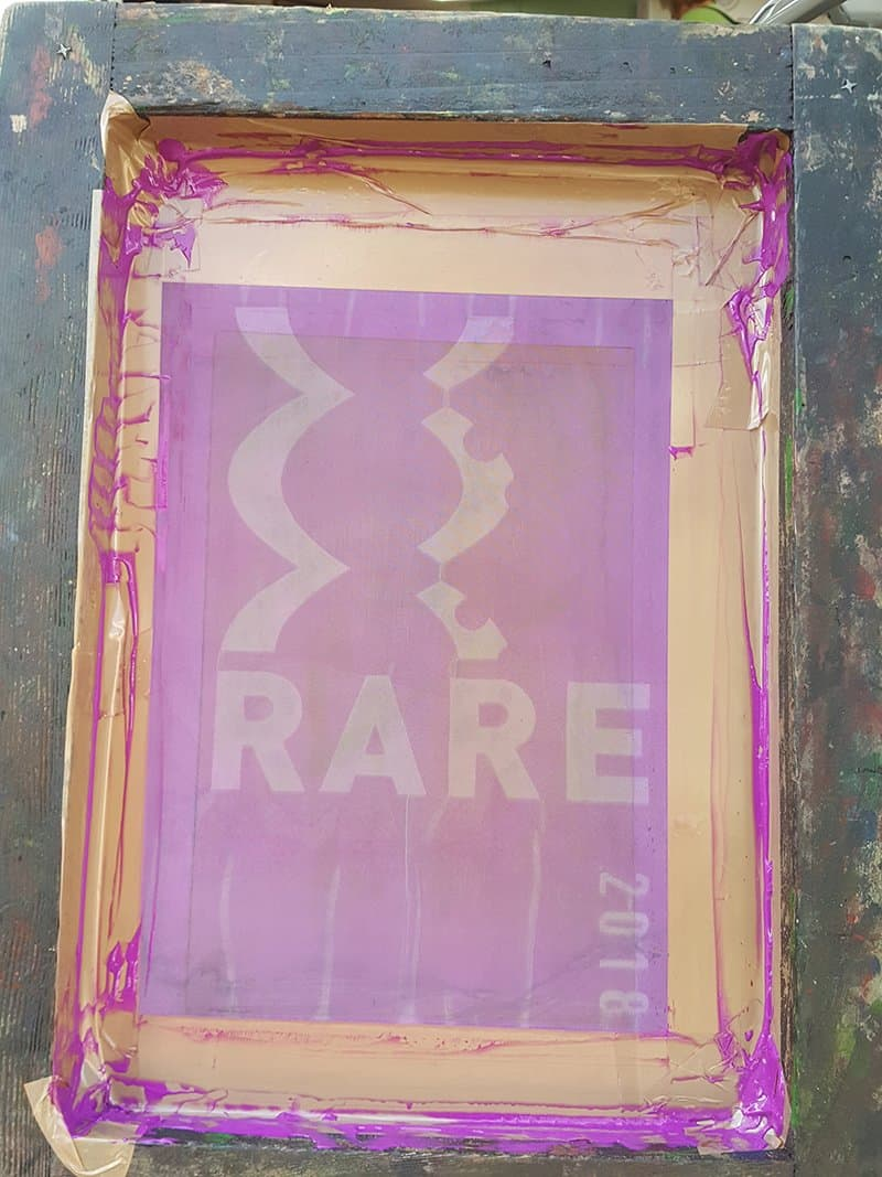 Cambridge Rare Disease Network - Screenprinting for RAREfest & Unique Feet 15