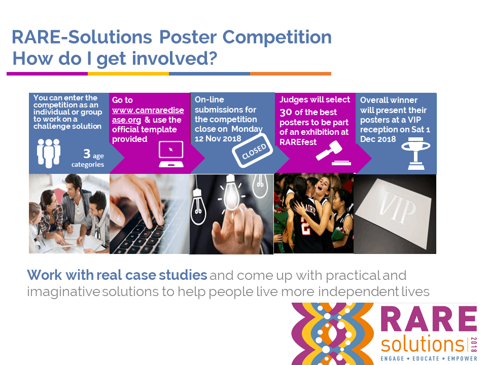 Cambridge Rare Disease Network - RAREfest | RAREsolutions competition 2